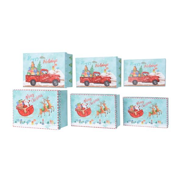 Cutie pentru cadou - Santa Claus Christmas - mai multe modele thumbnail