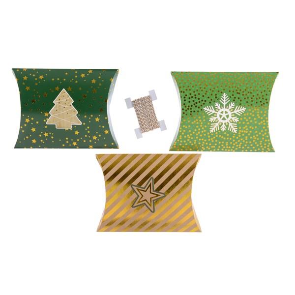 Cutie pentru cadou - Paper Pillow Gigtbox - mai multe modele thumbnail