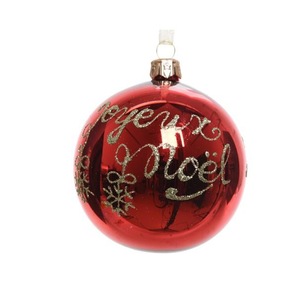 Glob decorativ - Joyeaux Noel Red thumbnail