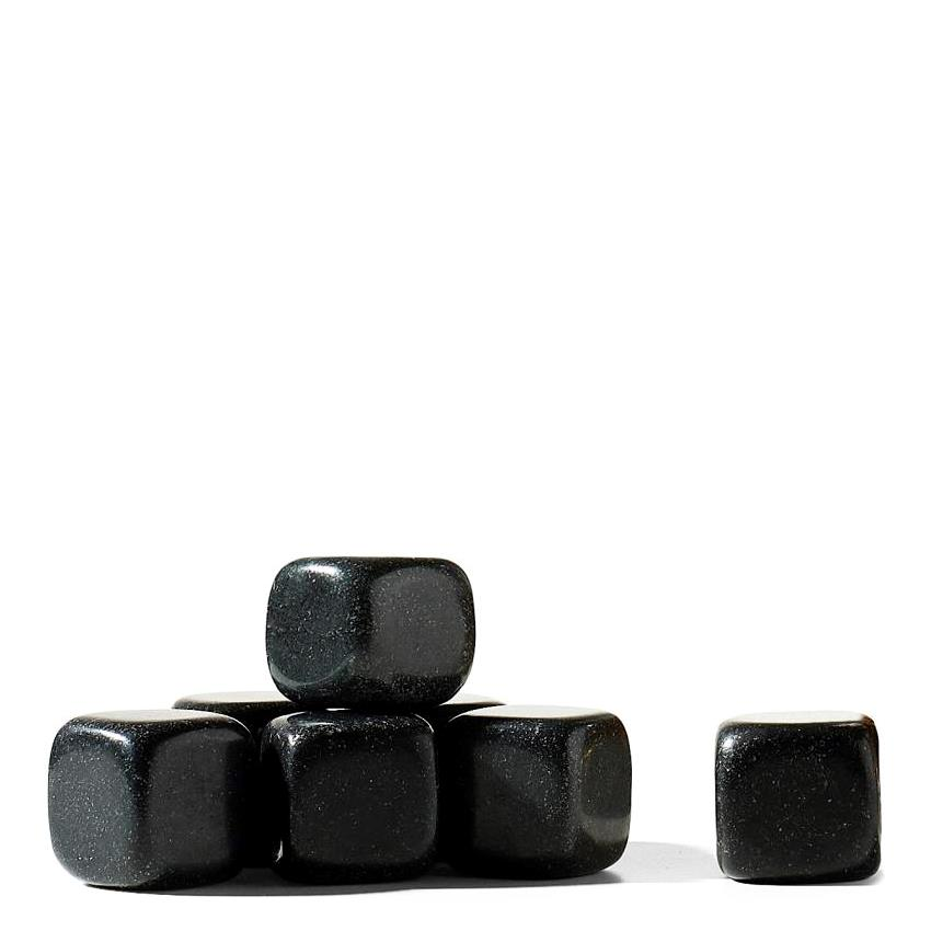 Set 9 cuburi artificiale de gheata - Whiskey Stones Black thumbnail