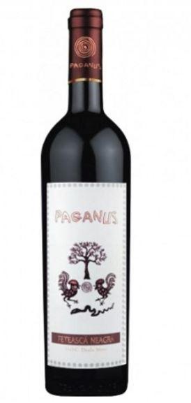 Vin rosu - Paganus, 2014, sec Paganus