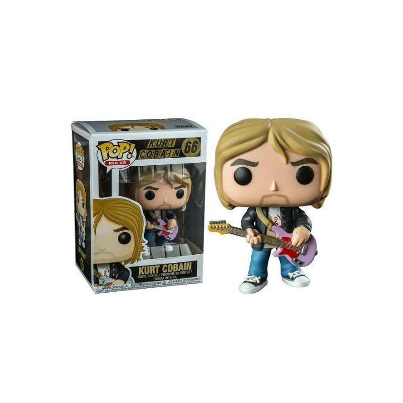 Figurina - Funko pop! Kurt Cobain (Live & Loud) Exclusive thumbnail