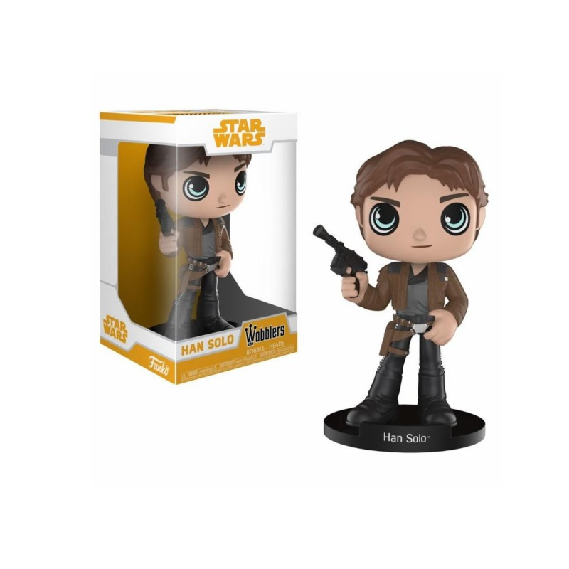 Figurina - Funko pop! Star Wars Solo: Han Solo Wobblers thumbnail