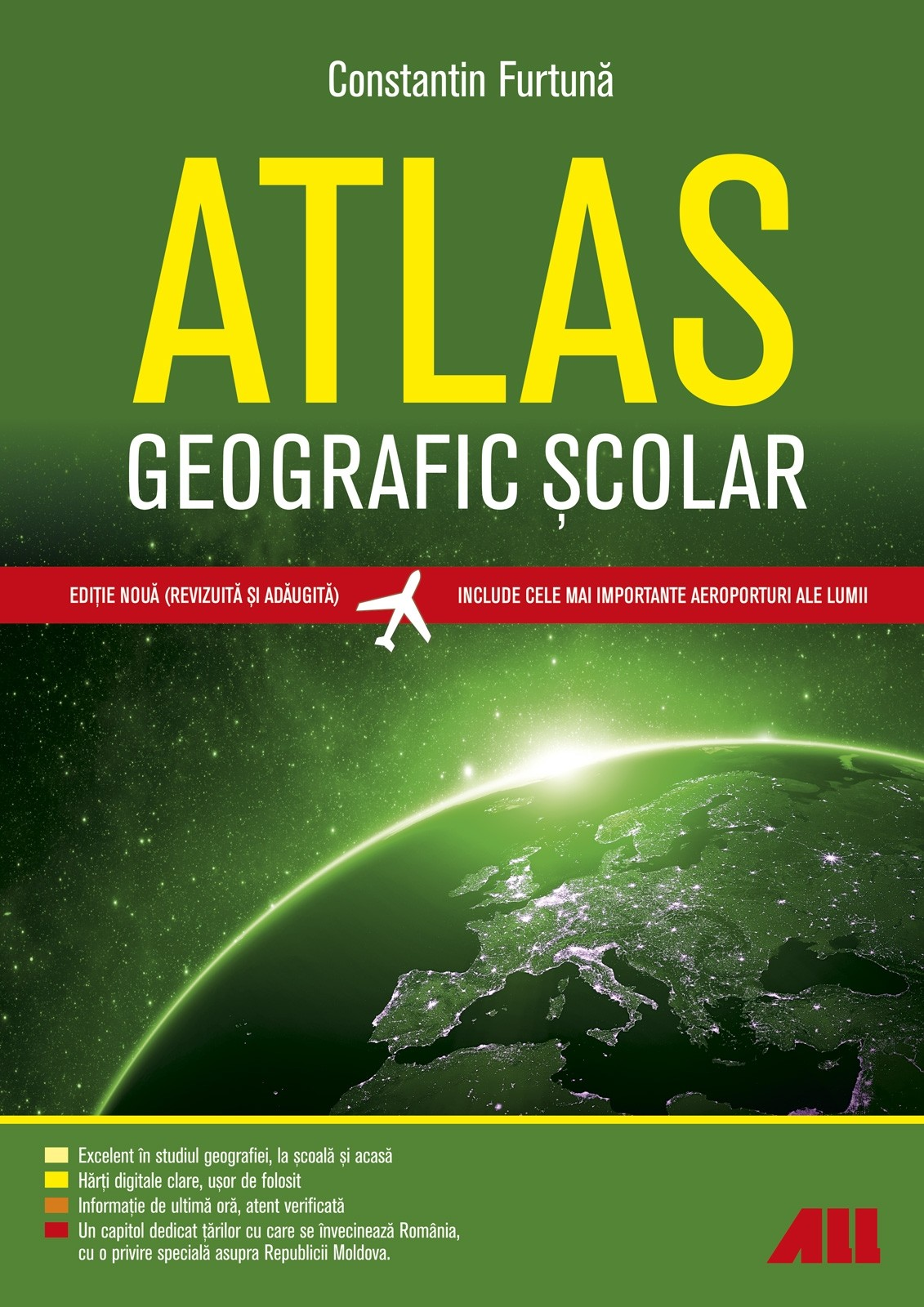 Atlas Geografic Scolar | Constantin Furtuna
