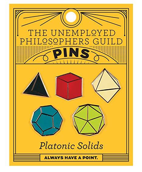 Set 5 insigne - Platonic Solids thumbnail