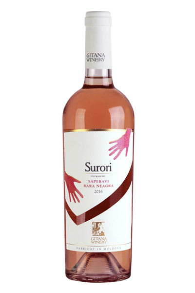 Vin rose - Surori, 2016, sec Gitana Winery