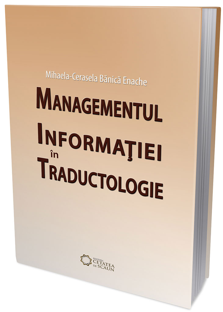 Managementul Informatiei in Traductologie
