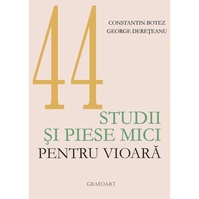 44 de studii si piese mici pentru vioara