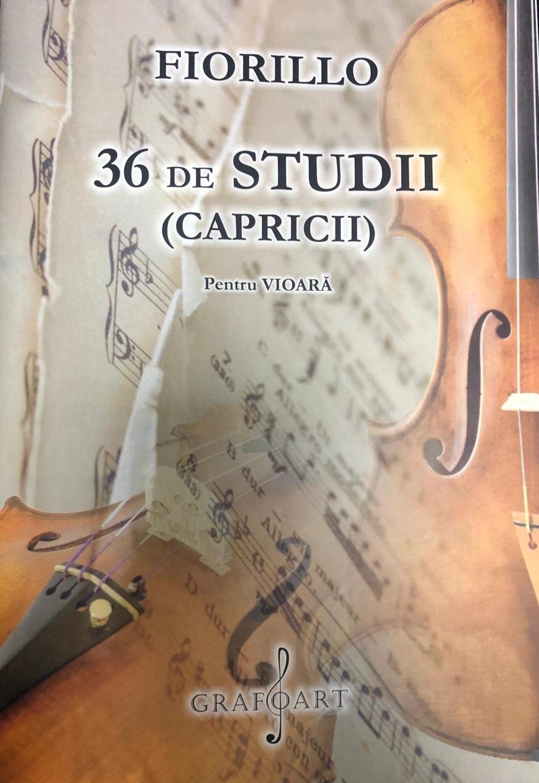 36 de studii. Capricii