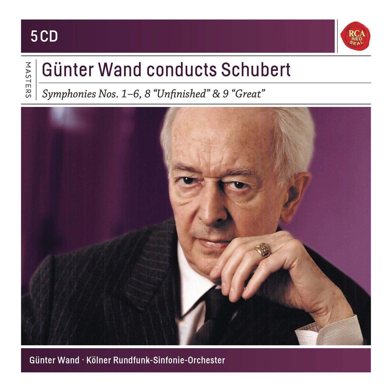 Gunter Wand Conducts Schubert - Box set