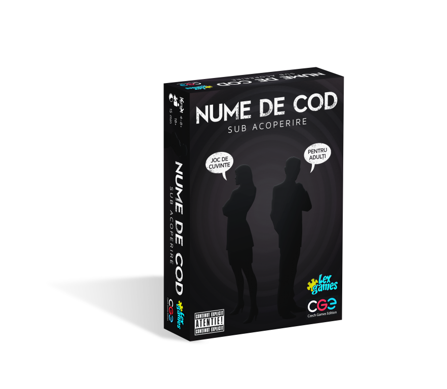 Nume de Cod - Sub acoperire   Czech Games Edition