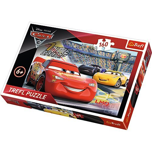 Puzzle 160 piese - Cars 3 | Trefl