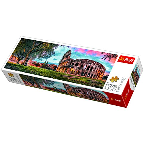 Puzzle 1000 piese - Panorama Colosseum   Trefl - 1