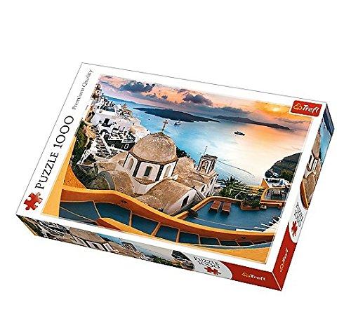 Puzzle 1000 piese - Fairytale Santorini   Trefl