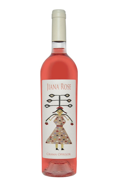 Vin rose - Jiana Premium, 2016, sec Crama Oprisor