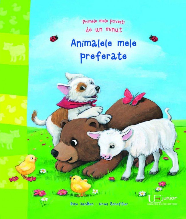 Imagine Animalele Mele Preferate - Ursel Scheffler, Rike Janssen Udo