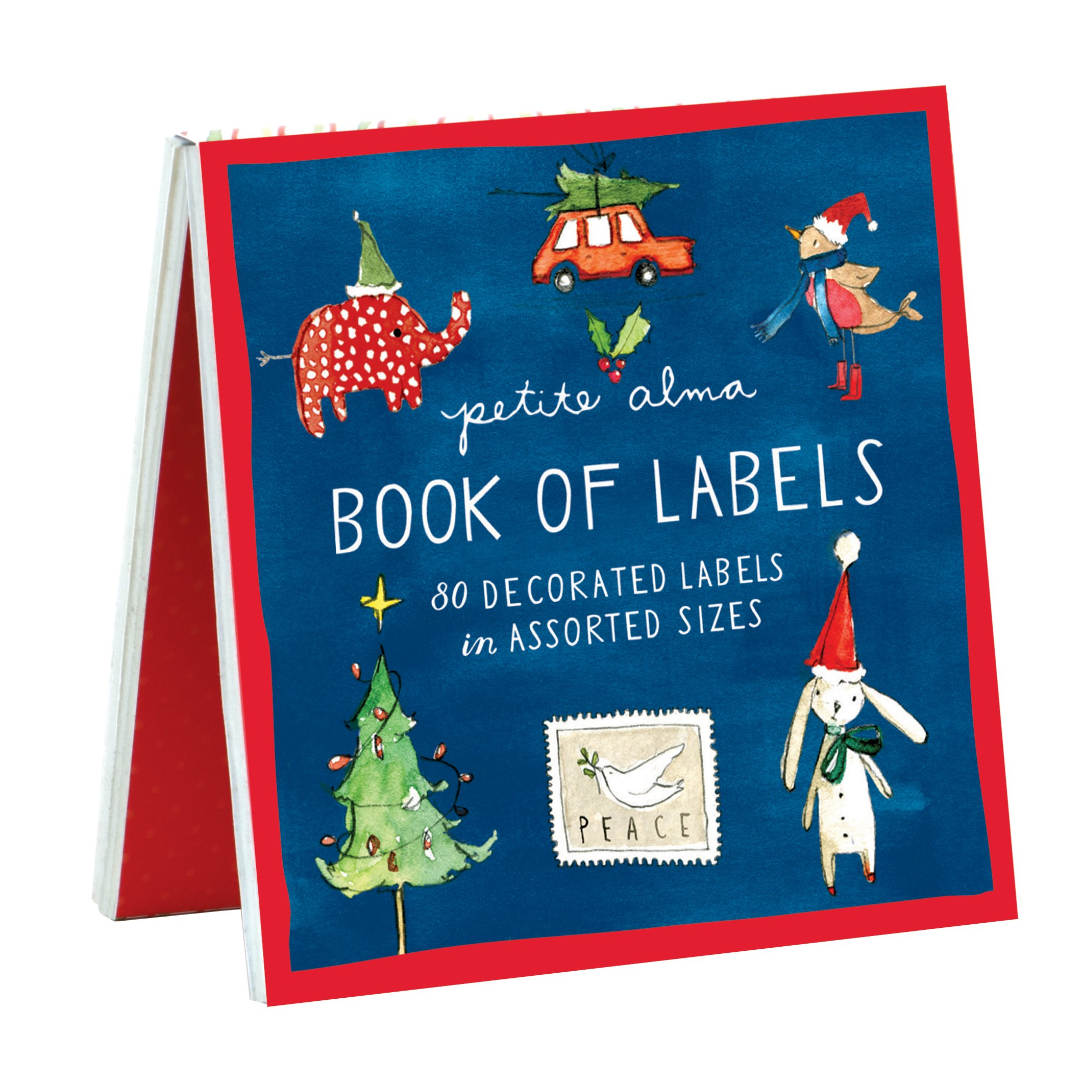 Petite Alma Holiday Cheer Book Of Labels |