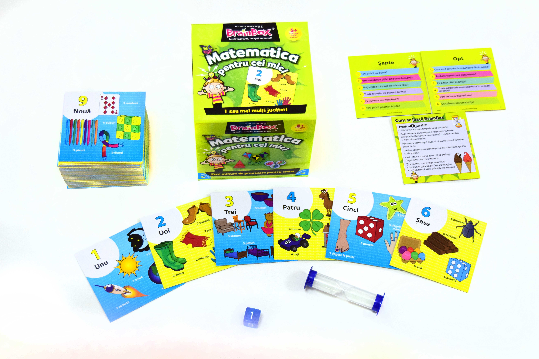 Joc Brainbox - Matematica pentru cei mici   Recent Toys