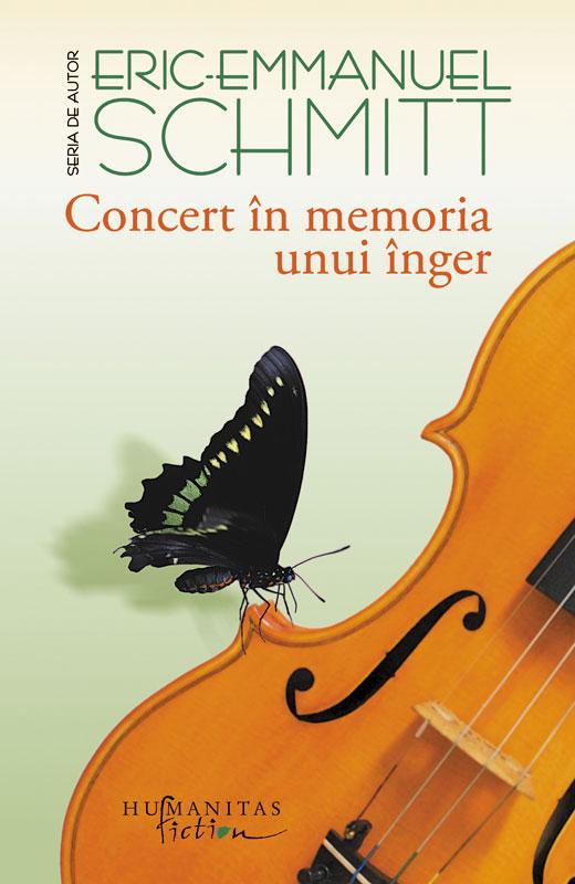 Concert in memoria unui inger | Eric-Emmanuel Schmitt