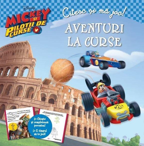 Disney Mickey si pilotii de curse - Citesc si ma joc. Aventuri la curse