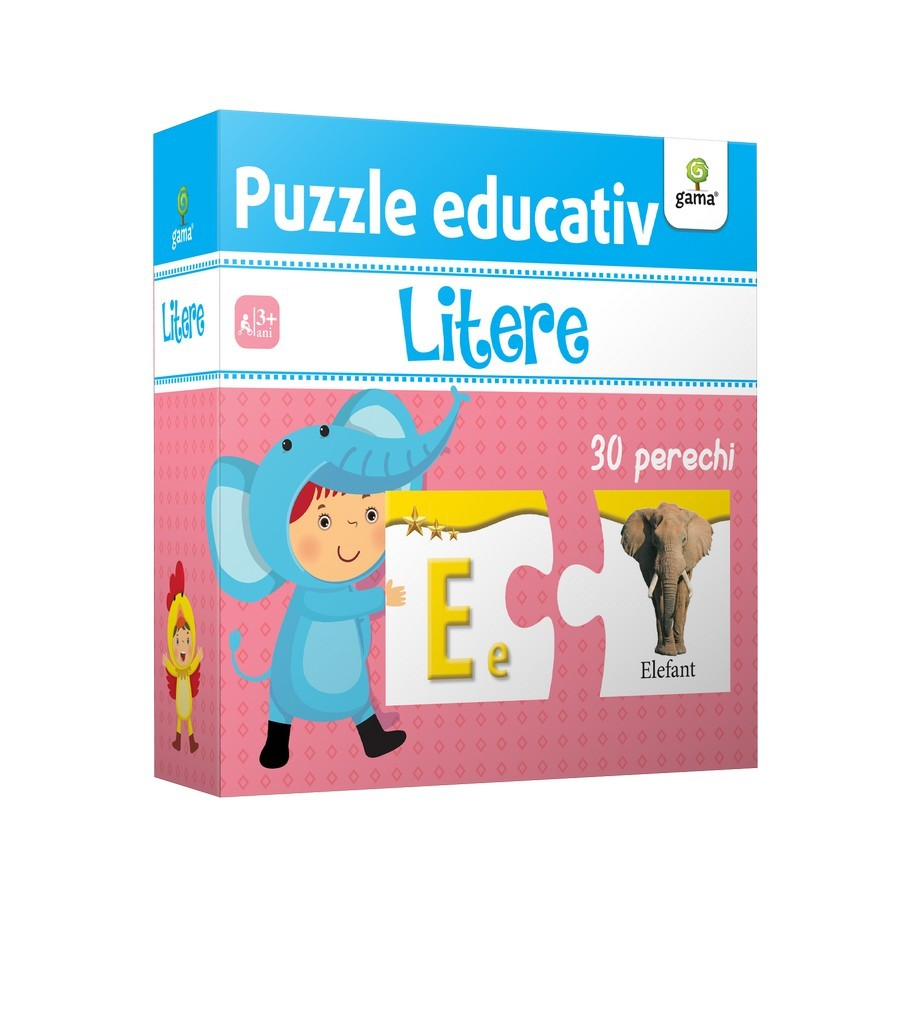 Litere - Puzzle educativ |