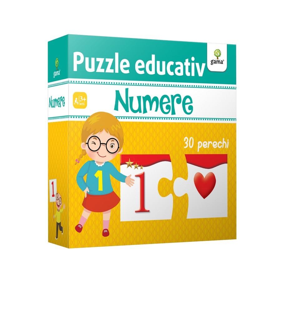 Numere - Puzzle educativ |