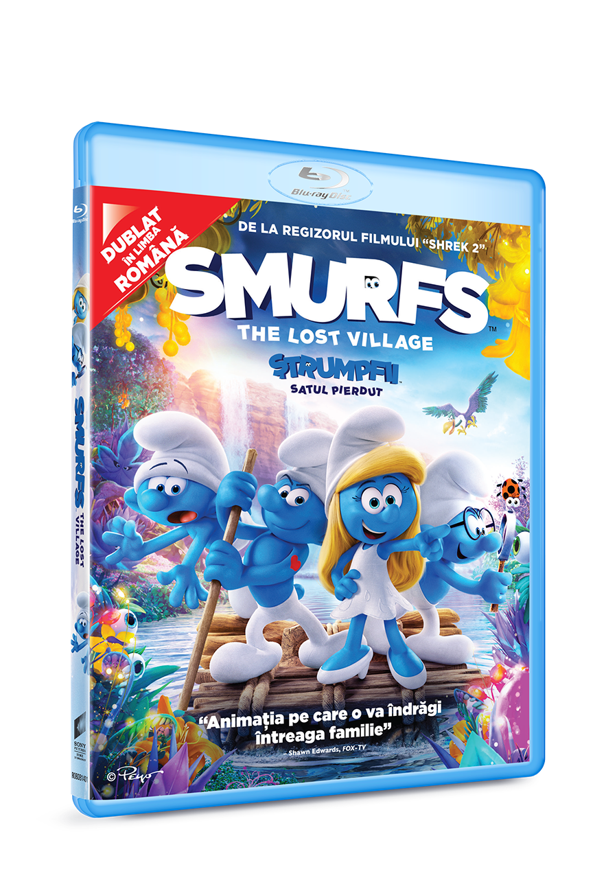 Strumpfii - Satul pierdut (Blu Ray Disc) / Smurfs - The lost village