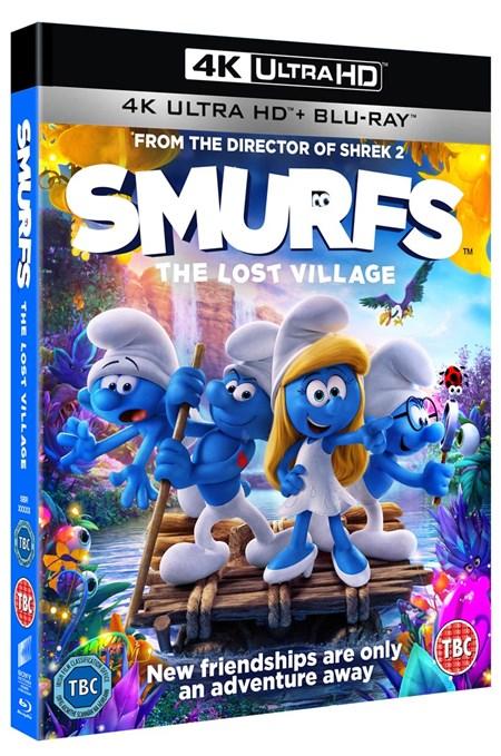 Strumpfii - Satul pierdut 4K UHD (Blu Ray Disc) / Smurfs - The lost village