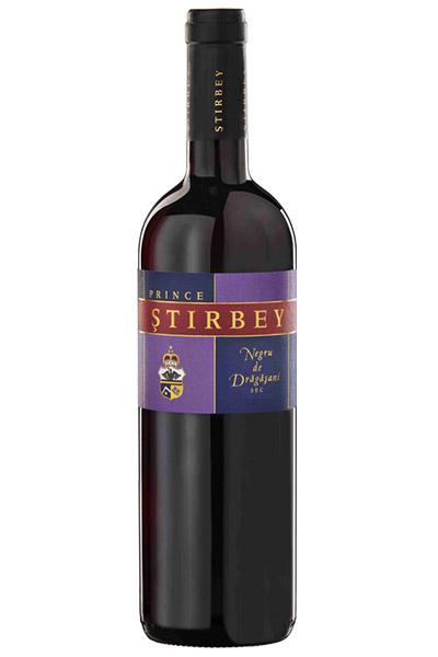 Vin rosu - Negru de Dragasani, 2016, sec Domeniile Stirbey