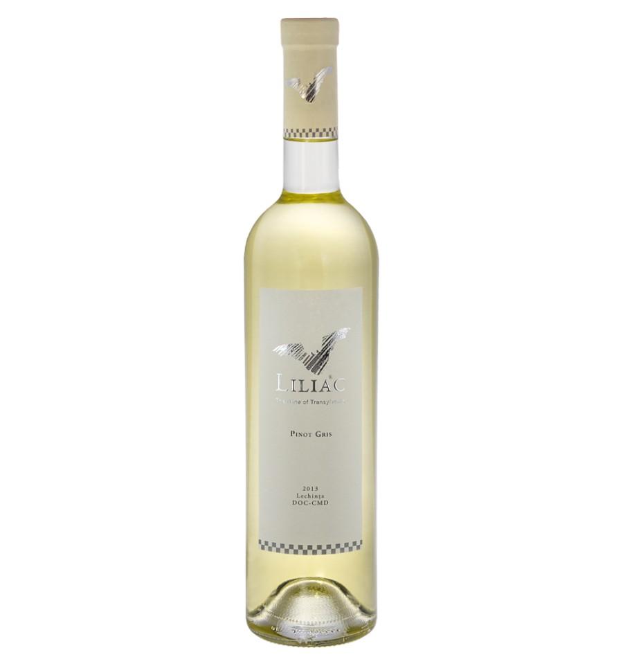 Vin alb - Liliac Pinot Gris, 2016, sec Liliac