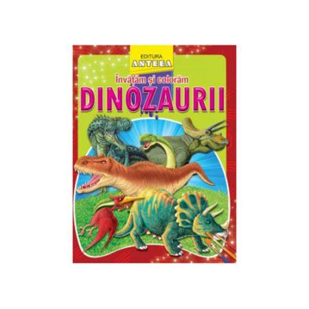 Invatam si coloram - Dinozauri
