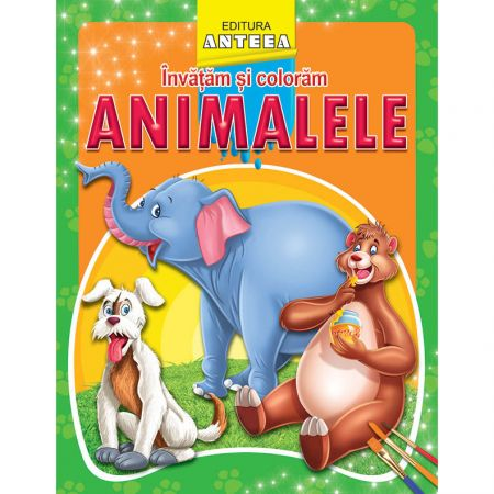 Invatam si coloram - Animalele