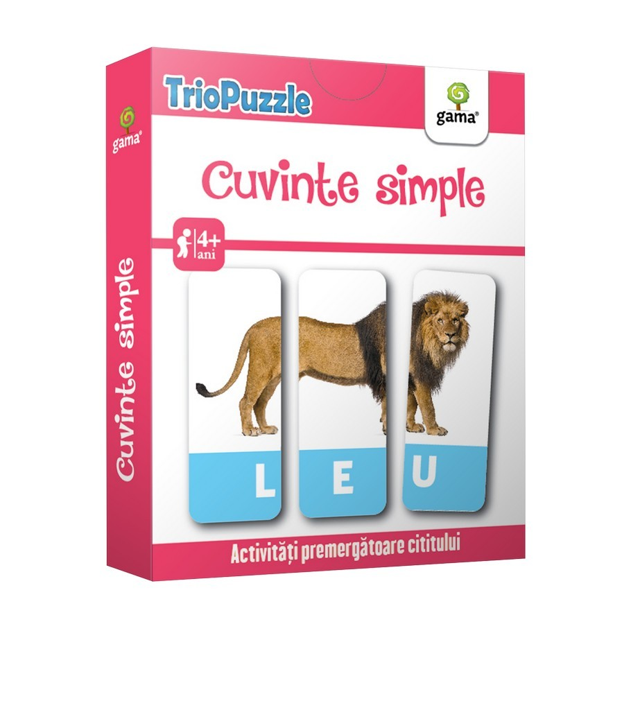 Cuvinte simple - TrioPuzzle |