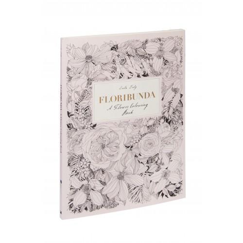 Floribunda - Agenda De Colorat Cu Flori | Leida Duly