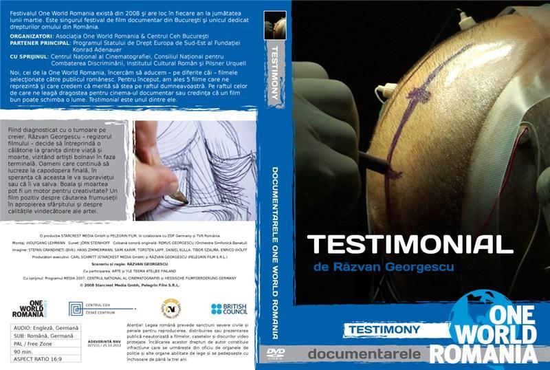 Testimonial / Testimony