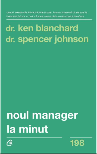 Imagine Noul Manager La Minut - Dr - Ken Blanchard, Spencer Johnson
