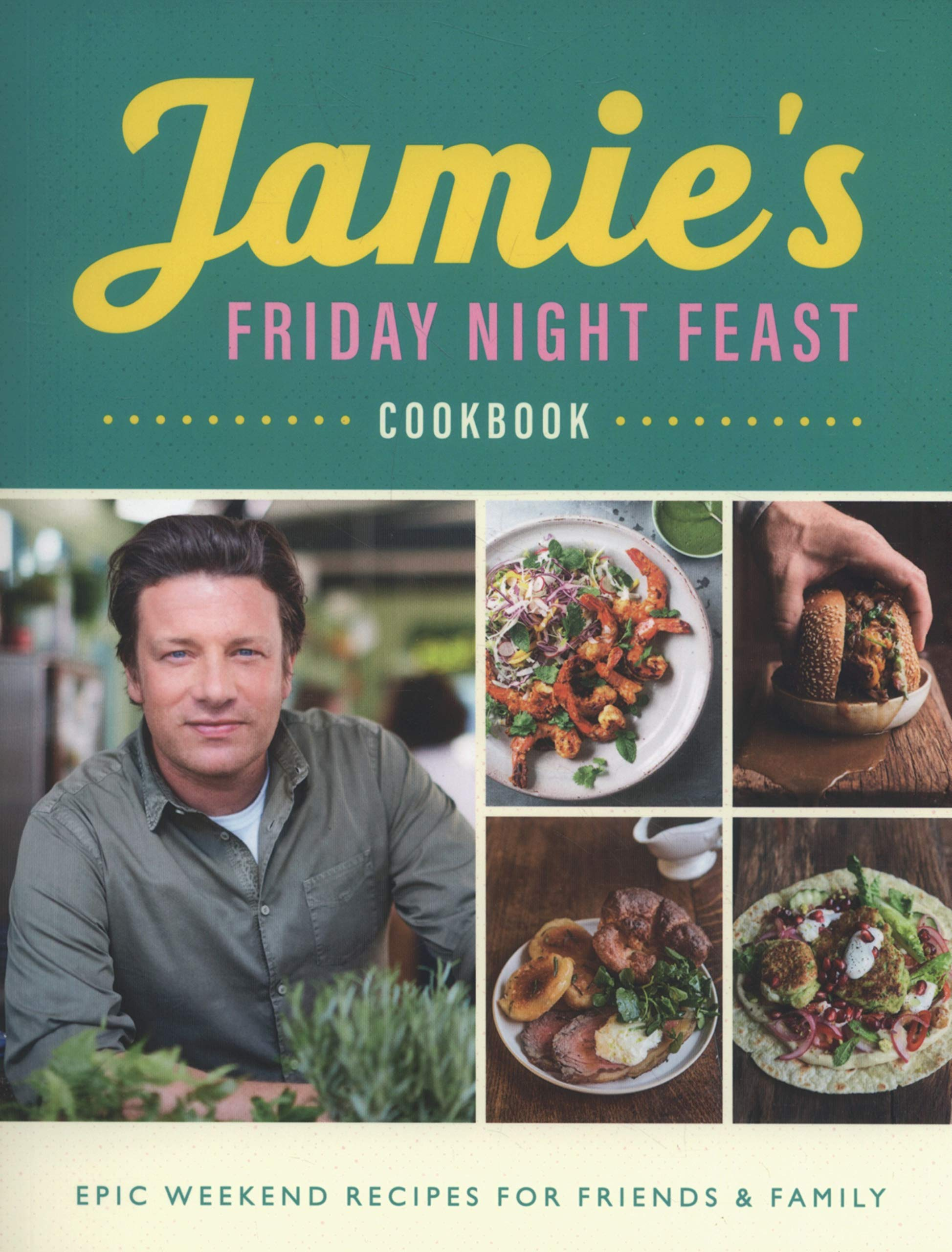 Jamie's Friday Night Feast Cookbook thumbnail