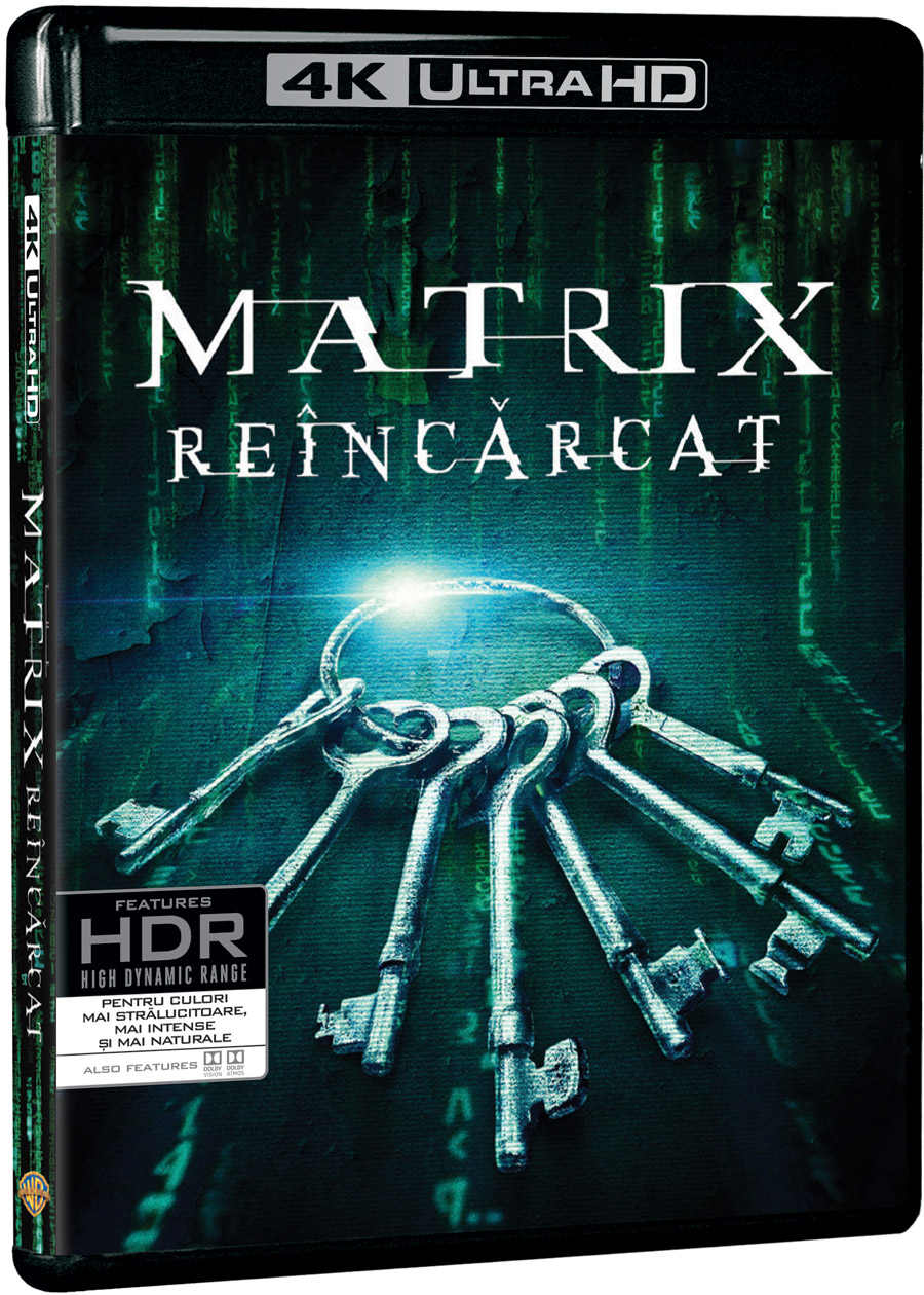 Matrix: Reincarcat 4K UHD / The Matrix Reloaded thumbnail