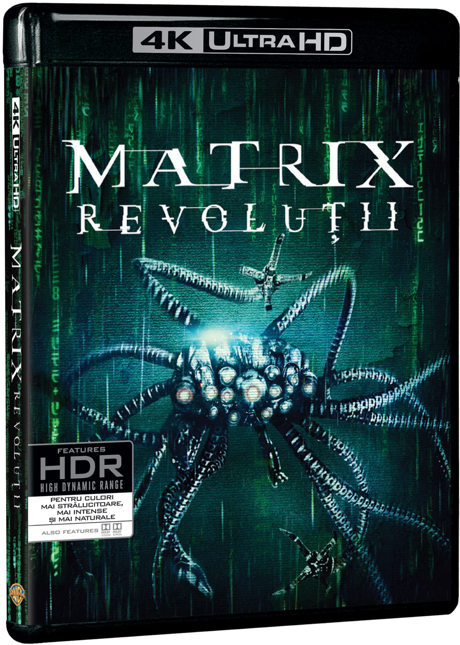 Matrix: Revolutii 4K UHD / The Matrix Revolutions thumbnail