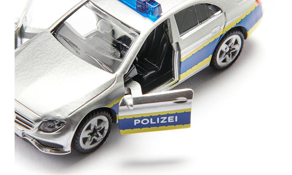 Masinuta - Masina de Patrulare a Politiei - Mercedes   Siku - 3