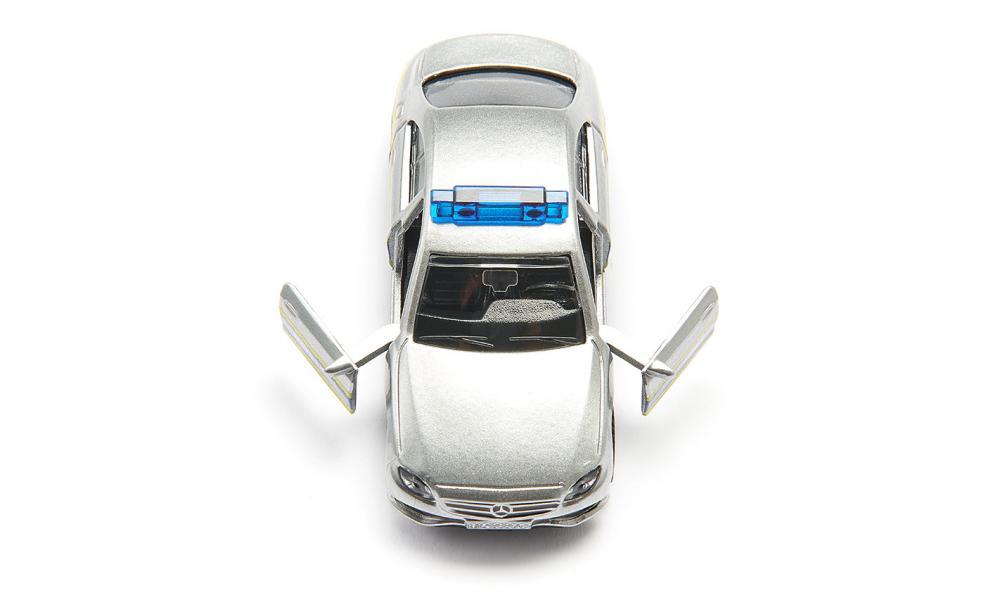Masinuta - Masina de Patrulare a Politiei - Mercedes   Siku - 2