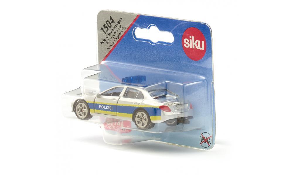 Masinuta - Masina de Patrulare a Politiei - Mercedes   Siku - 1