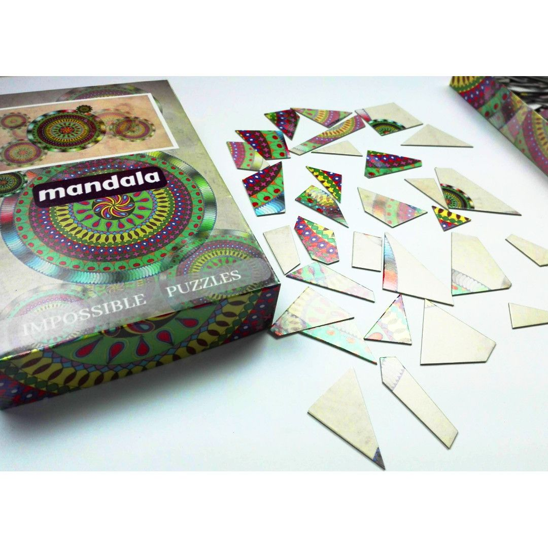 Puzzle Mosaic - Mandala thumbnail