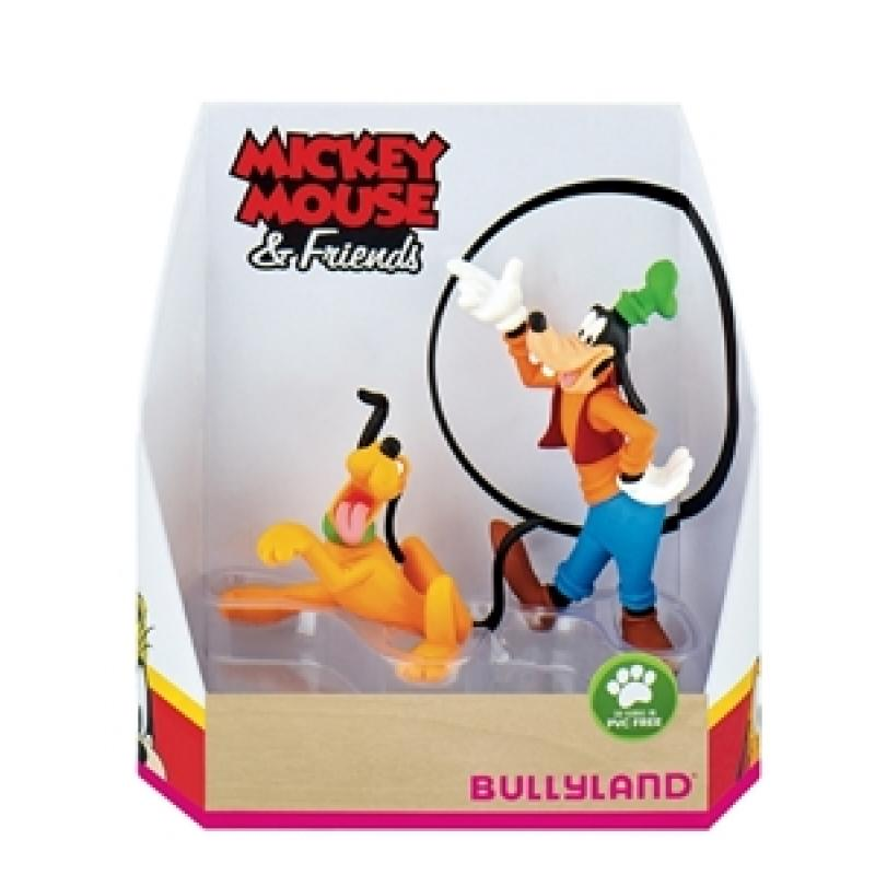 Set figurine - Pluto si Goofy | Bullyland