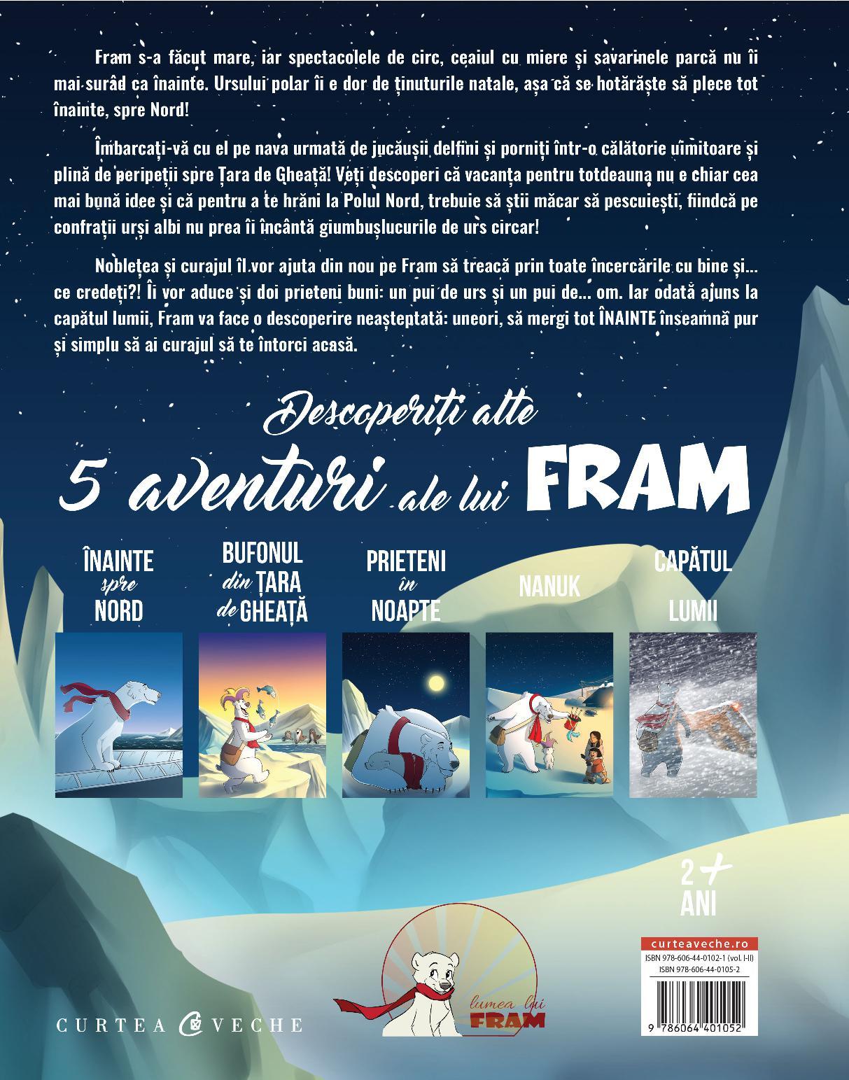 Aventurile lui Fram, ursul polar. Cartea 2