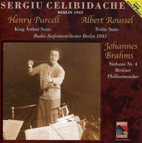 Sergiu Celibidache - Brahms: Sym No. 4 / Purcell: King Arthur / Albert Roussel: Petite Suite thumbnail