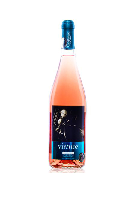 Vin - Virtuoz, rose, demi-dulce, cupaj, 2017 thumbnail