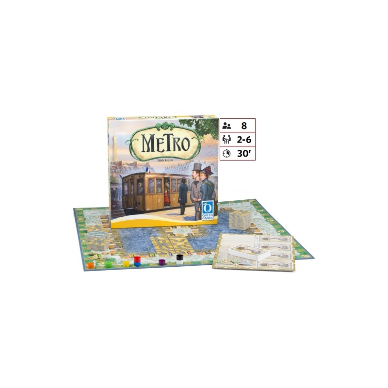 Joc de societate - Metro | Queen Games