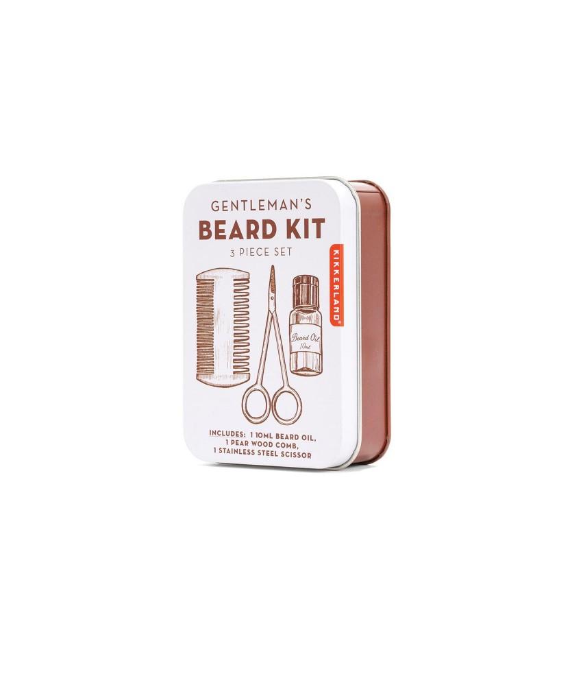 Kitt ingrijirea barbii - Gentleman's Beard Tin thumbnail
