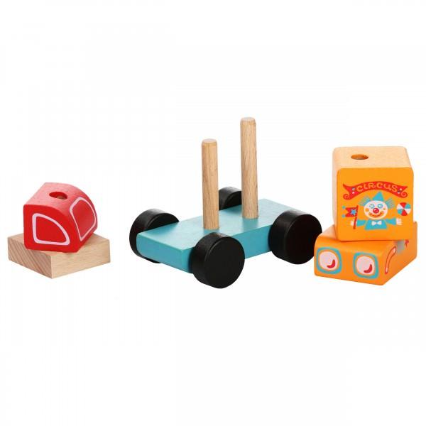 Jucarie din lemn - Cubika - Circus Car thumbnail
